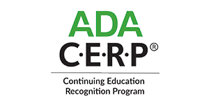 ADA Cerp - Continuing Education Recognition Program